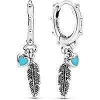 Pandora Orecchini di stoffa Donna argento - 297205EN168