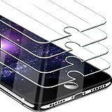 Beikell Protector Pantalla para iPhone 8/7/6s/6 [4 Piezas], Protector de Pantalla Vidrio Templado Premium Dureza 9H Alta Defi