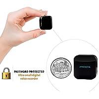 Petit Module D'enregistreur Voix à Commande Vocale, Dispositif d'écoute, Clé USB Dictaphone 286 Heures Capacite, 24 heures Batterie Autonomie, Enregistre pendant Charge - aTTo 4GO