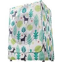 Housse imperméable pour machine à laver ou sèche-linge, adaptée à la plupart des machines à laver et sèche-linge avec…