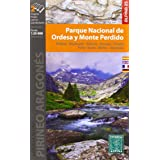 Parque Nacional de Ordesa y Monte Perdido. 2 mapas. Escala 1:25.000. Ordesa, Bujaruelo, Añisclo, Escuáin, Pineta, Torla, Brot