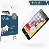 iPhone 7 Protection ecrán - 3x dipos Verre souple Film Protecteur 9H