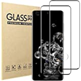 [2 Pack]Samsung Galaxy S20 Ultra Screen Protector,9H Hardness Anti-scratch Tempered Glass Screen Protective Film for Samsung