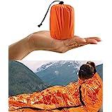 HONYAO Survival sovsäck, Emergency Bivvy Bag Emergency Rescue Blanket återanvändbar för utomhuscamping, vandring - 1 pack