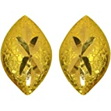 Joyalukkas 22KT (916) Yellow Gold Drop Earrings for Women (BN11198357)