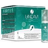 LINEAVI Vital | mit Vitaminen, Mineralstoffen und Omega-3-Fettsäuren | unterstützt das Immun- und Nervensystem und den Energiestoffwechsel | in Deutschland hergestellt | 30 Trinkflaschen plus Kapseln