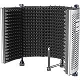 Neewer NW-5 Pannello di Registrazione Vocale Portatile Regolabile Fonoassorbente Regolabile, Schermo del Microfono con…