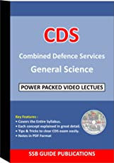 CDS GENERAL SCIENCE FULL DVD COURSE