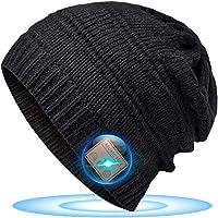 Regali Natale Originali Cappello Bluetooth - Idee Regalo Donna Uomo Beanie Bluetooth Musica Berretto, Idee Regali Natale…