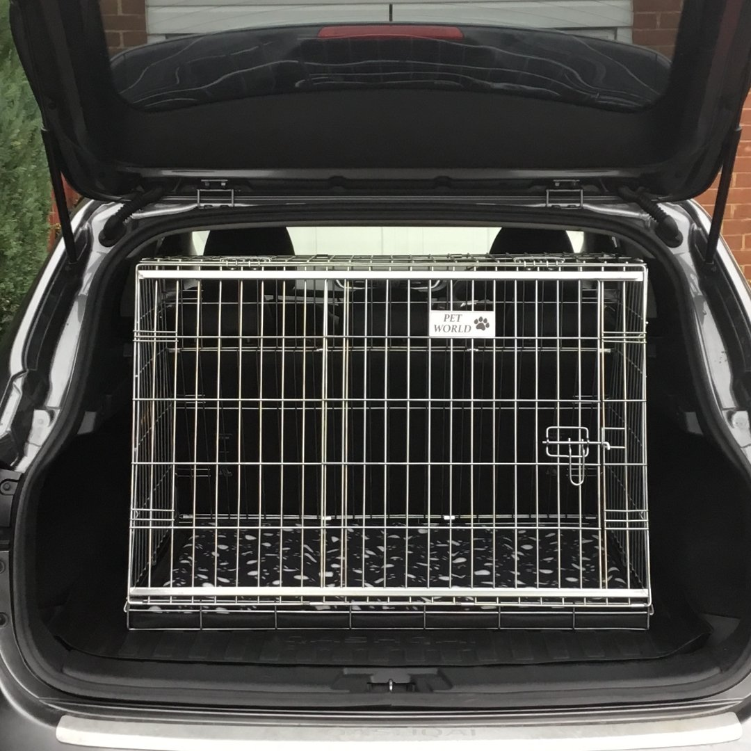 Arrow NISSAN QASHQAI 07-11 REG CAR DOG CAGE SLOPED FRONT GUARD PUPPY CRATE CARRIER