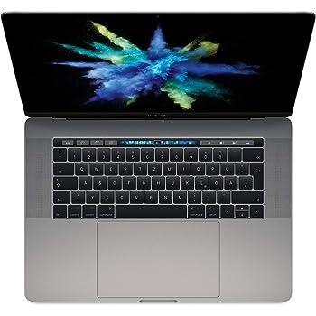 """Apple MacBook Pro, 15"""" mit Touchbar, Intel Quad-Core i7 2,8 GHz, 256 GB SSD, 16 GB RAM, 2017, Space Grau"""