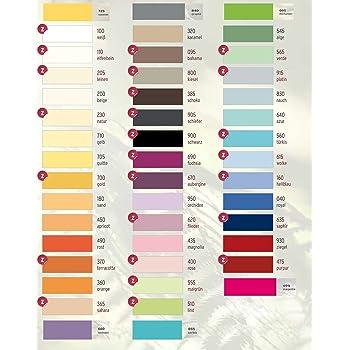 334cc27adc Estella Zwirn Jersey Spannbetttuch, Spannbettlaken in allen Größen und  vielen Farben- Zwirn Jersey Spannbetttuch + GRATIS 1x Schal 180-200 x  200-220 cm, ...