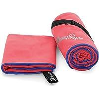 NirvanaShape ® Microfiber towels | Absorbent, light, quick-drying | Bathroom towels, travel towels, sports towels…