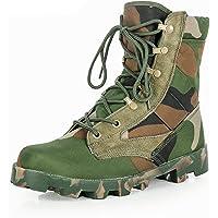 Wygwlg Bottes Tactiques de Camouflage pour Hommes d'été, Chaussures de randonnée Hautes légères en Plein air de la…