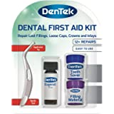 DenTek Home Dental First Aid Kit for repairing lost fillings or securing loose caps, crowns or inlays