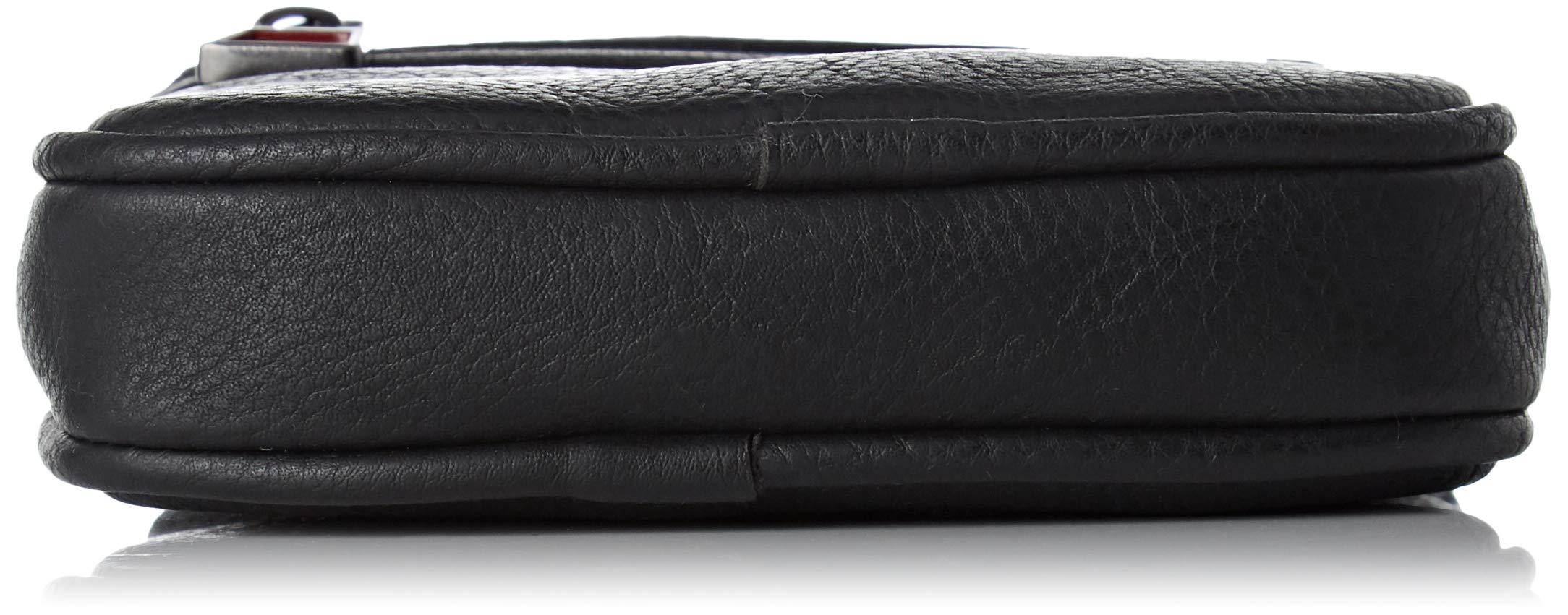 Tommy Hilfiger – Essential Compact Crossover, Bolsas para portátil Hombre, Negro (Tommy Navy/Core Stp), 2x17x13 cm (B x H T)