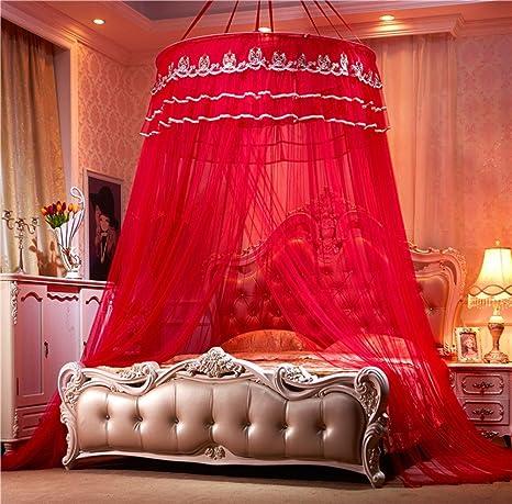 Moskitonetz Für Twin,Volle U0026 Queen Size Bett,Großes Moskitonetz Vorhänge,Überdachung  Für Betten, Runde Insekten Fliegengitter,Insekten Abweisende Schutz ...