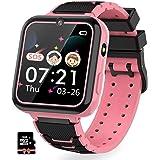 Jaybest Reloj Inteligente para Niños, Smartwatch niños con Hacer Llamada, SOS, Cámara, Música, Juegos y Despertador, Regalo p
