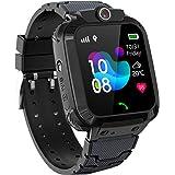 PTHTECHUS GPS Smartwatch Impermeabile per Ragazzi Ragazze, Orologio Intelligente Telefono con GPS Locator Chat SOS Vocale Cam