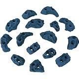 ALPIDEX Klettergriffe Klettersteine Tritte Größe XS - 15, 30, 60, 120 Stück in verschiedenen Farben