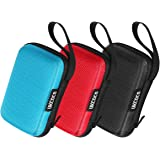 Earbud Case, PU Leather Earphone Carrying Pouch: Amazon.co