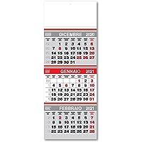 Calendario murale Trittico mini 2021 a strappo 22x58 (2 pezzi) - testata fustallata