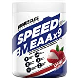 Bigmuscles Nutrition Speed EAAx9 [30 Servings], Full Spectrum EAAs-BCAA, Keto Friendly, Caffeine Free, Vegan Friendly, Just E