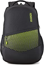 American Tourister 29.5 Ltrs Black Casual Backpack (AMT Mist SCH BAG02 Black)