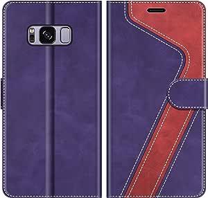 Mobesv Handyhülle Für Samsung Galaxy S8 Hülle Leder Elektronik