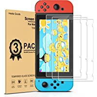 [3 Pack] Screen Protector for Nintendo Switch - Transparent Tempered Glass for Nintendo Switch[Anti Scratch][Case…
