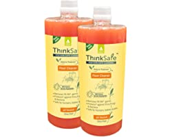 Organica ThinkSafe Natural Floor & Surface Cleaner Liquid, Eco friendly with Fragrance from Essentil Oils , Baby Safe, Pet Fr