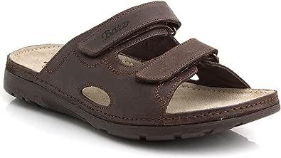 Batz Mike Leather Slip-on Mens Sandals Clogs