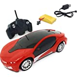Toyshine 1:22 Scale Remote Control car with 3D Lights, Wireless Remote, high Speed, for Kids, Assorted Colors