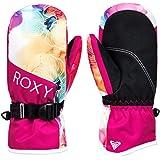 Roxy Jetty-Manoplas para Snowboard/Esquí para Chicas 8-16, Niñas