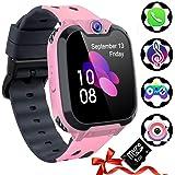 Reloj Inteligente para Niños, Tarjeta SD Incluida ,Smartwatch con Reproductor de MúSica con Sos Llamada Cámara 7 Juegos Y Rep