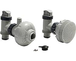 Intex Kit de raccordement Ø 38 mm pour Piscine, Gris