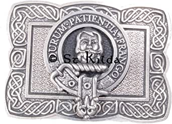 Muir Clan Crest Kilt Belt Buckle