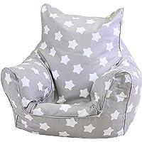 KNORRTOYS.COM Knorrtoys 68211 Pouf pour Enfant, au Motif d'étoiles, Blanc