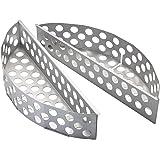 RÖSLE Kohlekorb F50/F50 AIR, 2-teilig, beschichtetes Stahl matt
