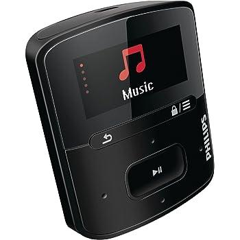 Philips SA4RGA02KFS/37 GoGEAR Raga Sport Pack MP3 Players - Black