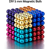 Magicwand® DIY Balls for Home,Office Decoration & Stress Relief etc (216 Multi-Colored Balls)