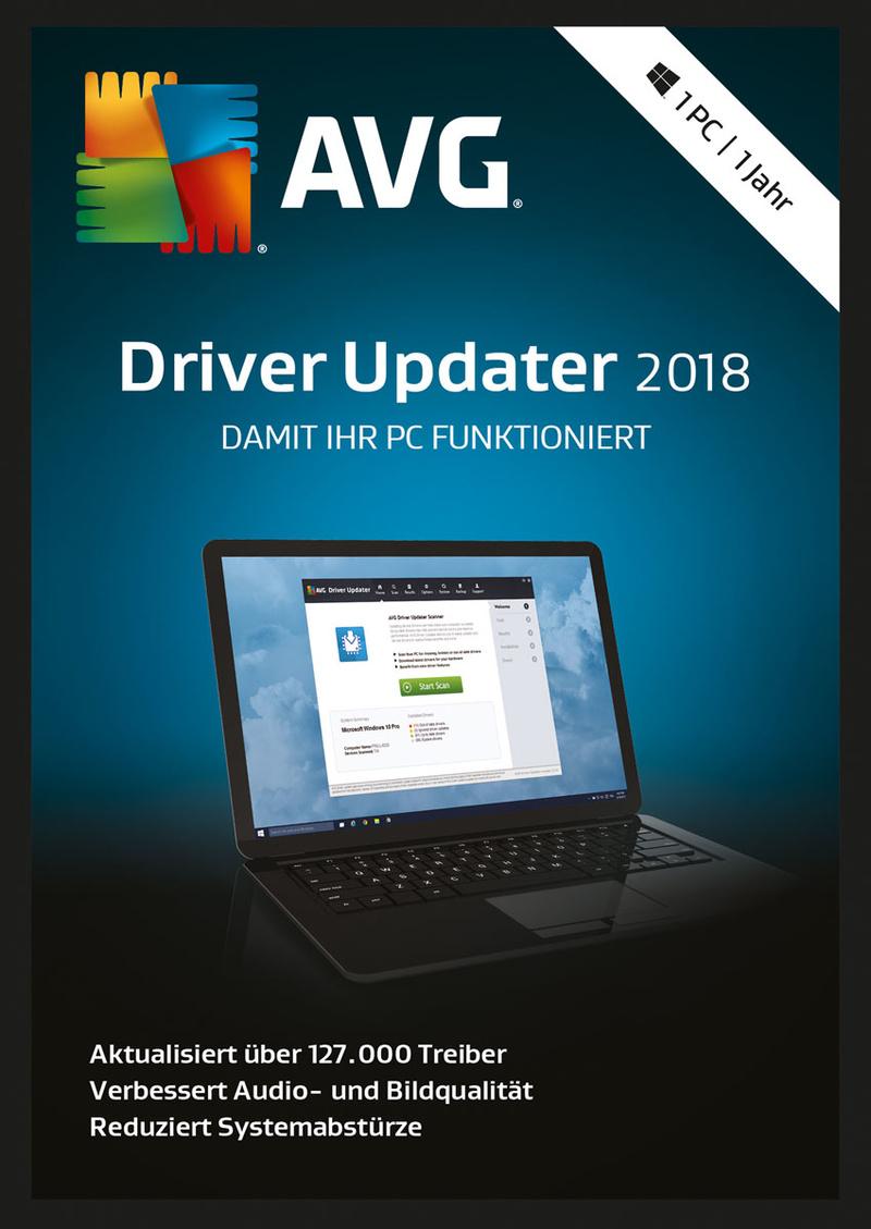 AVG Driver Updater 1 PC/1 Jahr [Online Code] (Windows 7 Treiber Download)