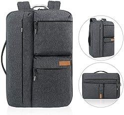 Reise Laptop Rucksack, REYLEO Business Handtasche Herren Computer Tasche für Männer und Frauen, Wasserabweisend Tagesrucksack für College Schule City-dunkelblau