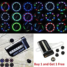 FUN n SHOP 14 LED 8 Colors Bicycle Spoke Wheel LED Light 32 Patterns