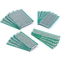 AZDelivery Set 16 x PCB Board Lochrasterplatte Lochrasterplatine Leiterplatte inklusive E-Book!