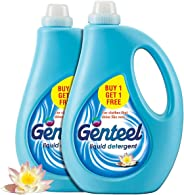 Godrej Genteel Liquid Detergent, (Pack of 2) - 1kg each