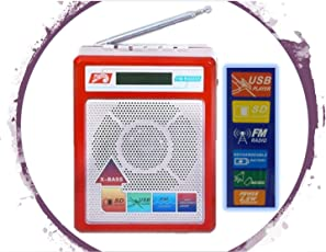 Selling Uniqness UNIq Sonilex Portable FM Radio have LED Display with USB Pen Drive / SD Player and Music Output