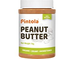 Pintola Organic Peanut Butter (Creamy) (1kg)