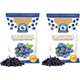 WONDERLAND FOODS (DEVICE) Dried Blueberry -300 g Combo Pack of 2, 150 g Each