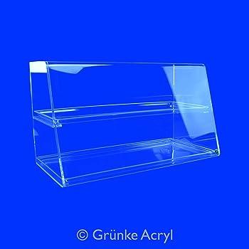 Haube aus Acryl Spuckschutz Seiten geschlossen Thekenaufsatz Niesschutz